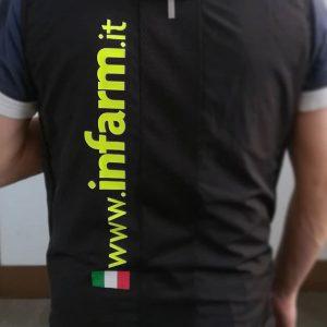 Trasferimento termico su t-shirt